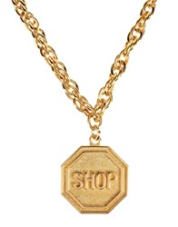 Moschino Couture Necklaces Gold