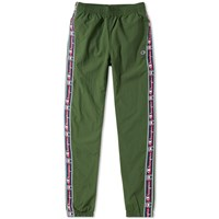 Champion Reverse Weave Corporate Taped Track Pant Green