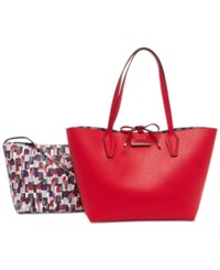 Guess Bobbi Inside Out Tote Lipstick