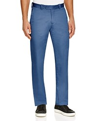 Bloomingdale's The Men's Store At Cotton Regular Fit Pants 100 Exclusive Cadet Blue