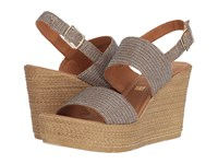 Seychelles Downtime Bronze Metallic Wedge Shoes