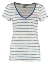 Gaastra Brisbane Print Tshirt Light Indigo Blue