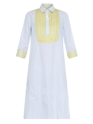 Thierry Colson Angelica Embroidered Cotton Dress