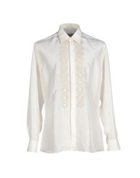 Carlo Pignatelli Shirts Shirts Men Ivory