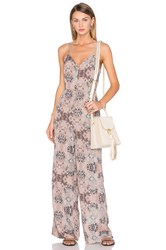 House Of Harlow X Revolve Gia Jumpsuit Taupe