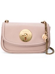 See By Chloe Chain Strap Shoulder Bag Pink Purple