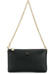 Dolce And Gabbana Zipped Pouch Black