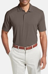 Cutter And Buck Men's Big Tall 'Genre' Drytec Moisture Wicking Polo Circuit Taupe