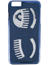 Chiara Ferragni 'Flirting' Iphone 6 Plus Case Blue