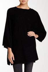 14Th And Union Short Sleeve Cashmere Sweater Black
