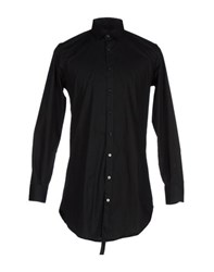 Minimal Shirts Shirts Men Black