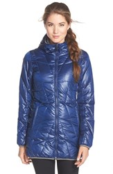 Women's Lole 'Gisele' Water Resistant Quilted Jacket Mirtillo Blue