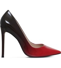 Carvela Alice Patent Leather Ombra Courts Red