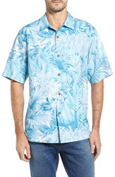 Tommy Bahama Men's Botanico Jungle Short Sleeve Silk Sport Shirt Cool