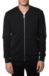 Men's 7 Diamonds 'Ancona' Knit Bomber Jacket