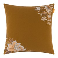Etro Flandre Embroidered Cushion 45X45cm Yellow