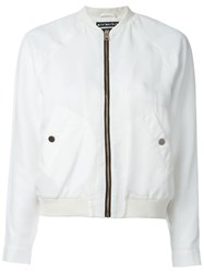 Minimarket 'Hapy' Fitted Jacket White