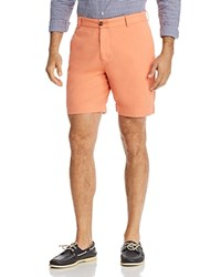 Tailorbyrd Twill Shorts Tangerine
