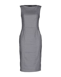 Tonello Dresses Knee Length Dresses Women Slate Blue