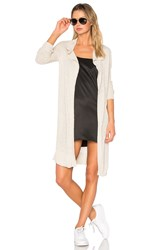 James Perse Open Cardigan Beige