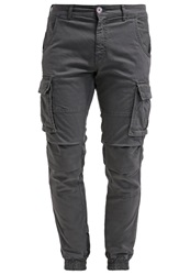 Gas Jeans Gas Bob Cargo Trousers Graphite Grey