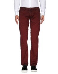 Gas Jeans Casual Pants Maroon
