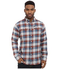 Matix Clothing Company Garrison Flannel Shirt Natural Men's Long Sleeve Button Up Beige