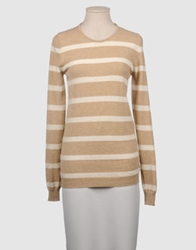 Bafy Long Sleeve Sweaters Sand