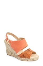 Women's Patricia Green 'Elise' Wedge Sandal Coral