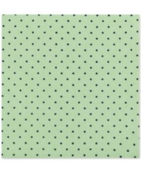 Tommy Hilfiger Men's Dot Print Pocket Square Green
