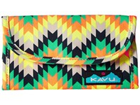 Kavu Big Spender Cactus Bloom Wallet Handbags Green