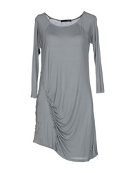 Dek'her Topwear T Shirts Women Grey