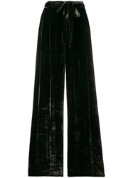 Roberto Collina Belted Wide Leg Trousers Brown