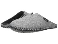 Woolrich Felt Mill Scuff Steel Gray 1 Women's Slippers Blue