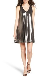 Everly Women's Metallic Racerback Shift Dress