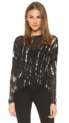 Generation Love Judy Marble Long Sleeve Top Multi