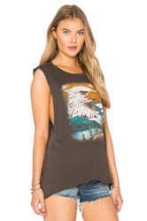 Project Social T Eagle Mountain Tank Black