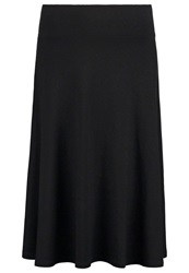 Anna Field Aline Skirt Black