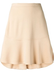 Chloe Chloe Classic A Line Skirt Nude And Neutrals
