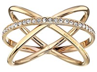 Michael Kors Brilliance Ring Gold Clear 1 Ring