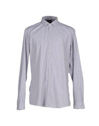 G.V. Conte Shirts Shirts Men Grey