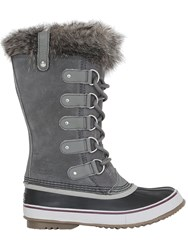 Sorel Joan Of Arctic Faux Fur And Suede Boots