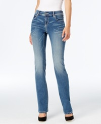 Inc International Concepts Mid Rise Bootcut Jeans Light Indigo Only At Macy's