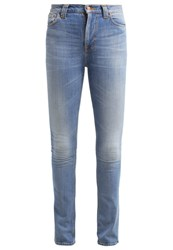 Nudie Jeans Ben Bootcut Jeans Fade Away Light Blue