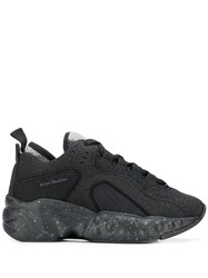 Acne Studios Manhattan Safety Sneakers Black