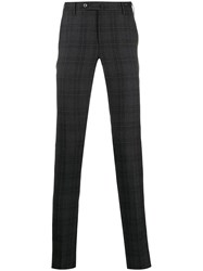 Pt01 Slim Fit Check Trousers 60