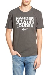 Lucky Brand Men's Fender Louder T Shirt