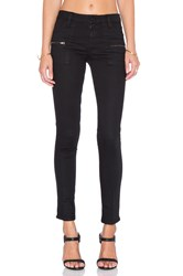 Sanctuary Slub Stretch Skinny Jean Black