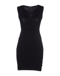John Richmond Short Dresses Black