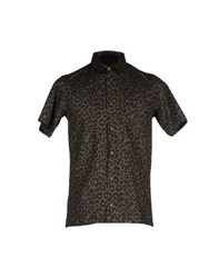 Minimal Shirts Shirts Men Dark Green
